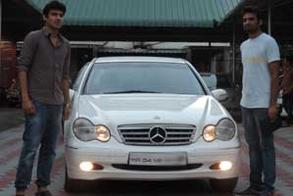 Yes Cars Bangalore - Happy customer with Benz